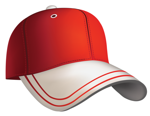 Red Baseball Cap Clipart.