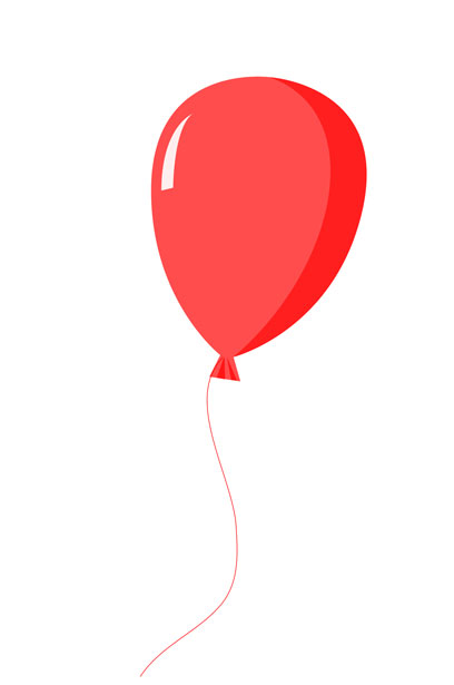 Red Balloon Clipart Free Stock Photo.