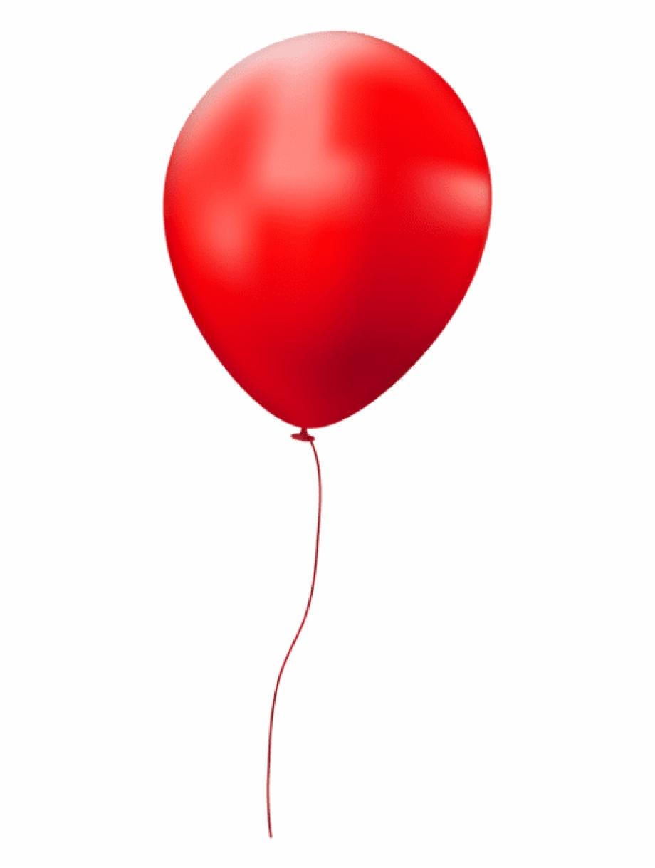 4 Clipart Single Balloon.