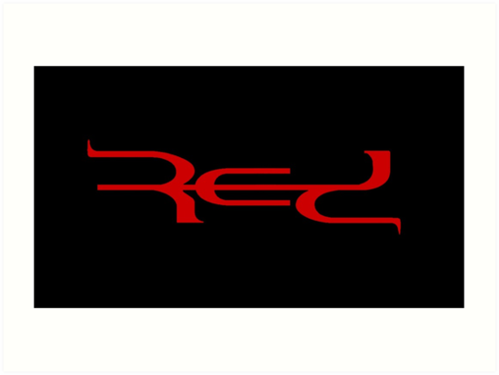 \'Red Band Logo\' Art Print by SupremeRedditor.