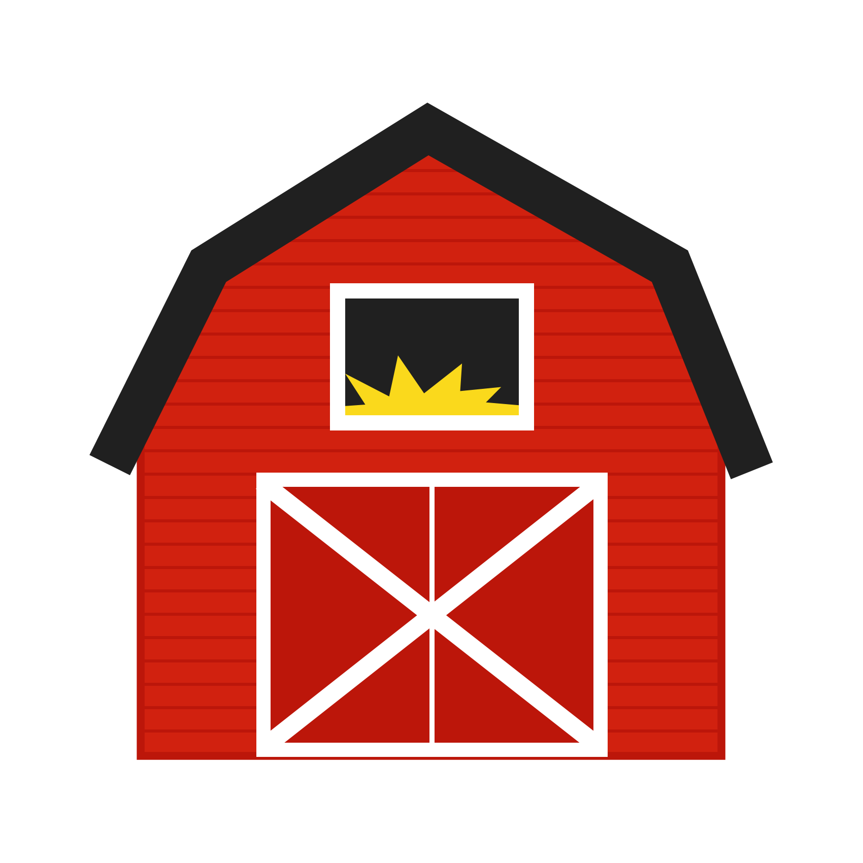 6+ Red Barn Clip Art.