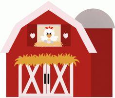 Cartoon barn red barn clip art out door red.