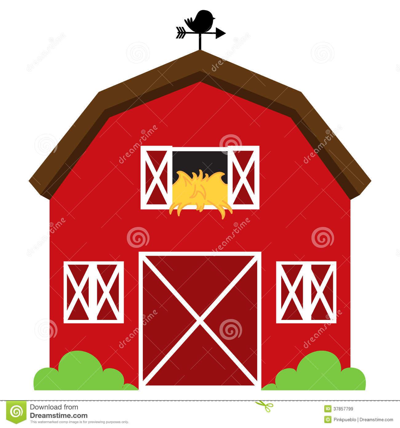 2483 Barn free clipart.
