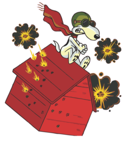 Red Baron clipart.