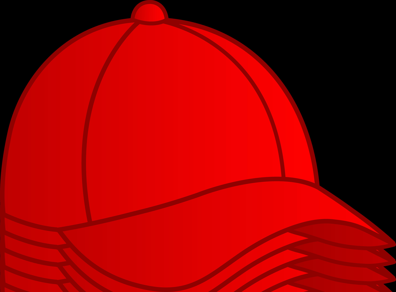 Red Baseball Cap.