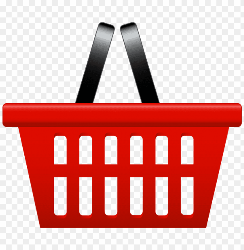 Download red shopping basket png clipart png photo.