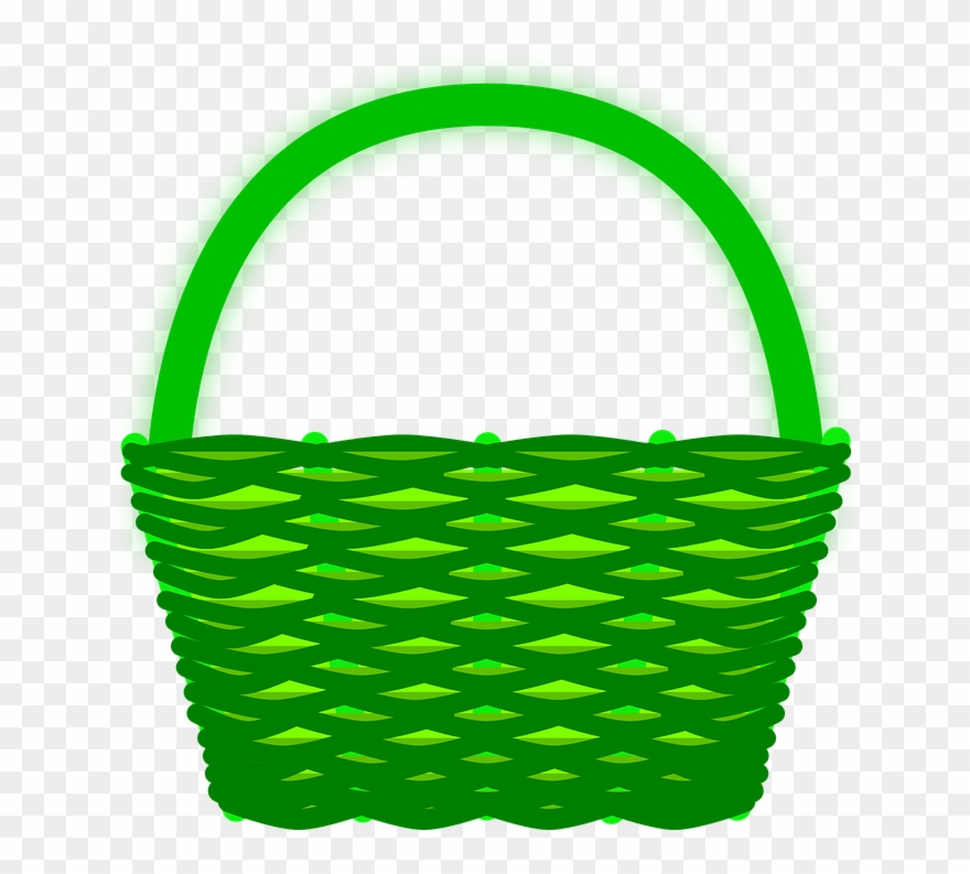 Red Basket Clipart.