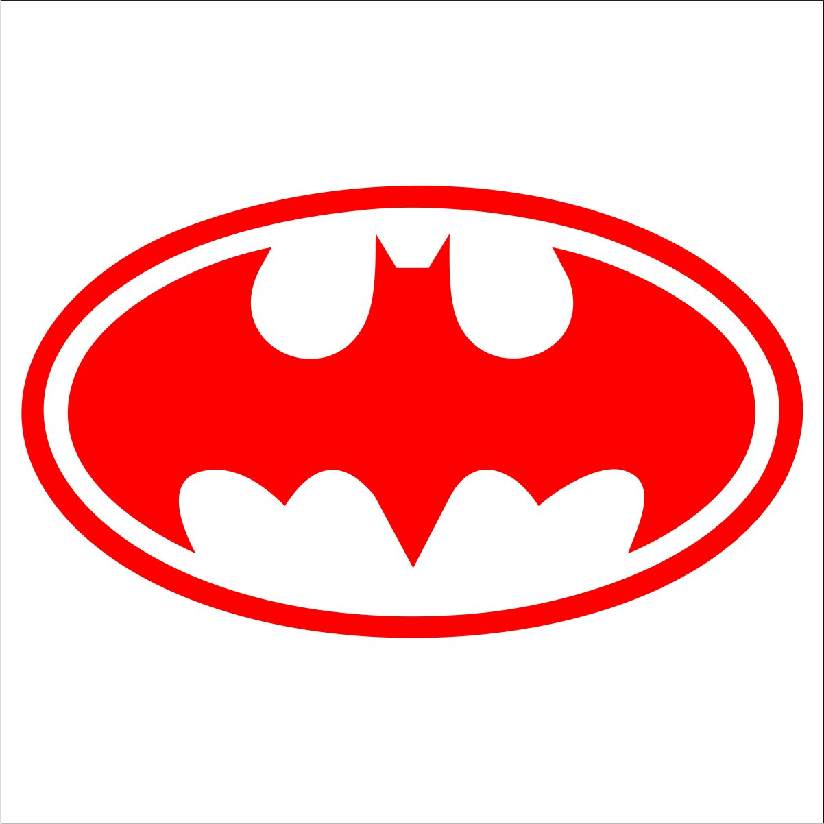 Batman OL Decal / Sticker.