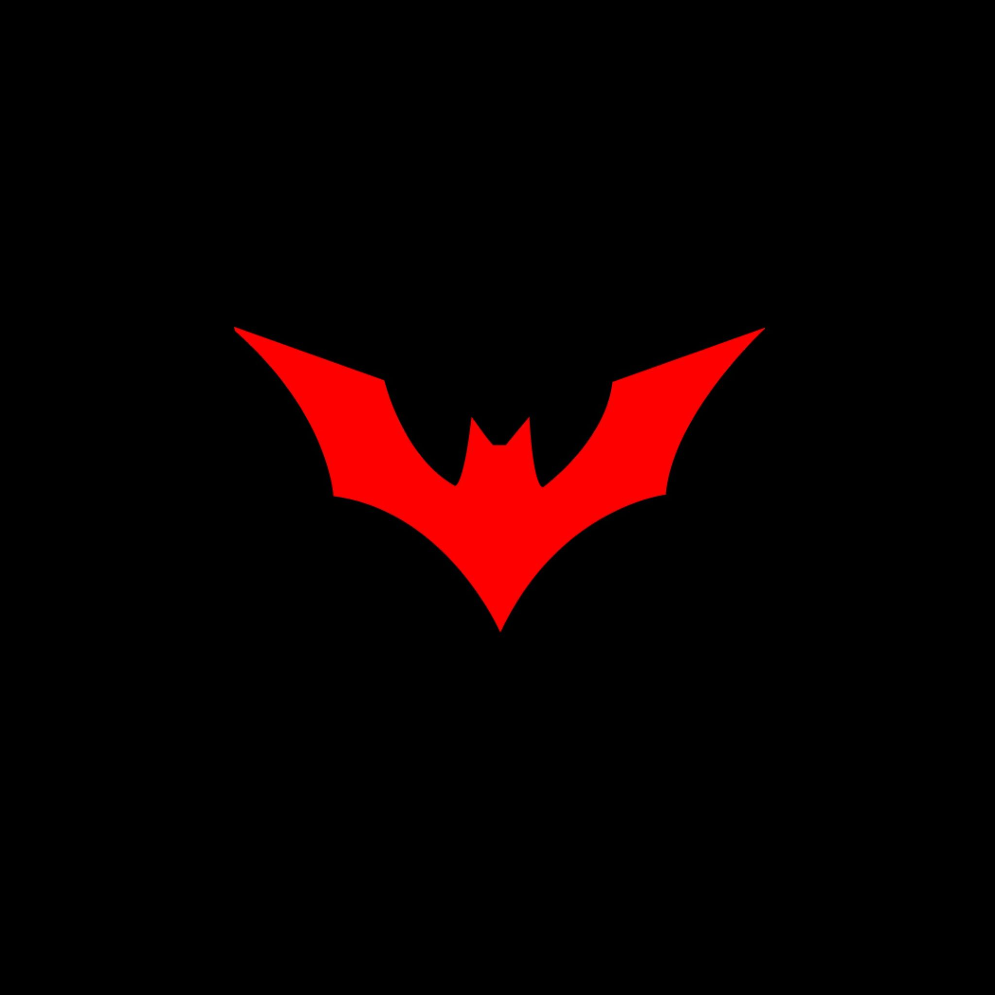 Red Batman Logo.