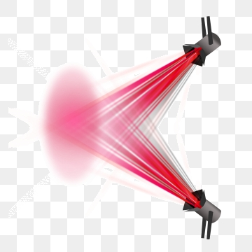 Red Beam PNG Images.