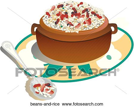 Red beans and rice clipart » Clipart Station.