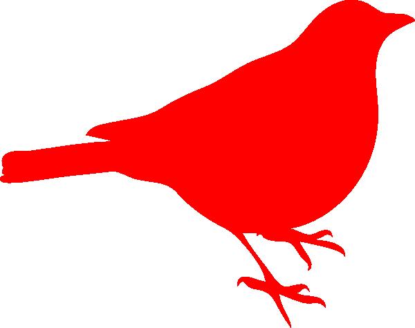 Red bird clip art.