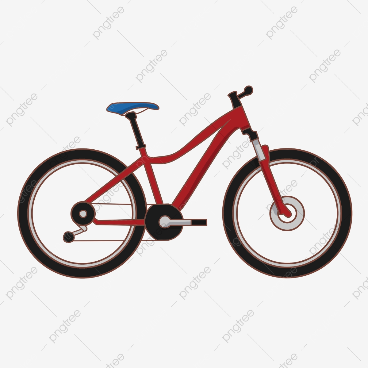 Cycle clipart red bike, Cycle red bike Transparent FREE for.