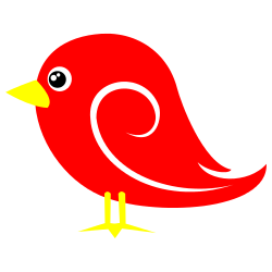 5+ Red Bird Clip Art.