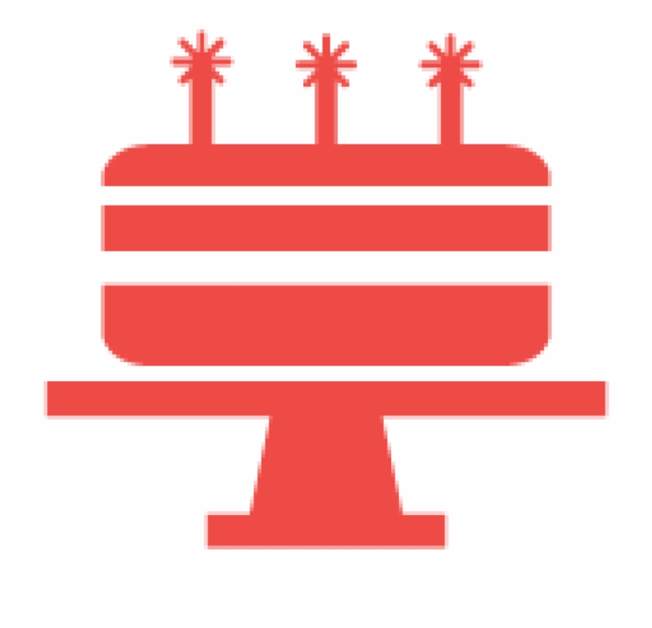 Birthday Cake Icon.