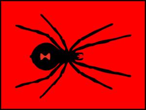 Red Black Widow Clip Art at Clker.com.