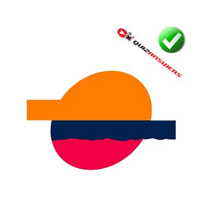 Red and orange Logos.