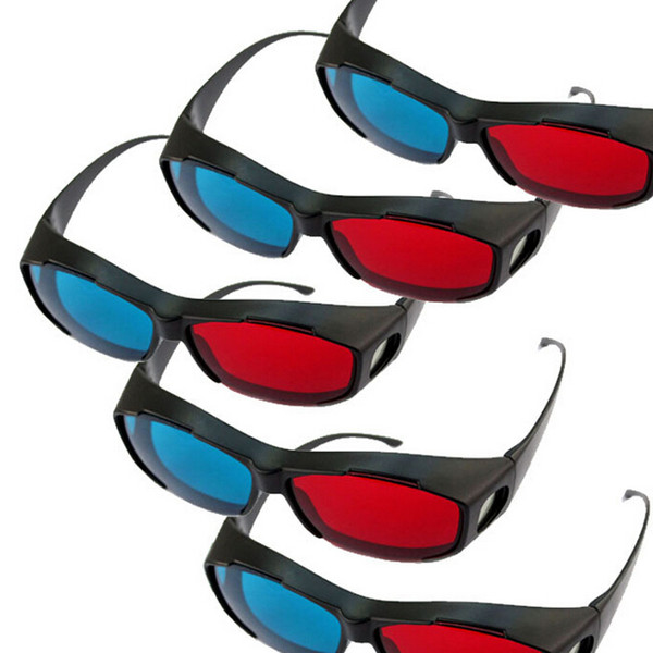 Universal Type 3d Glasses Red Blue Glasses Cyan Anaglyph Vision 3d.