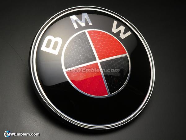 Red bmw Logos.
