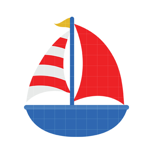 Cute Boat Clipart.