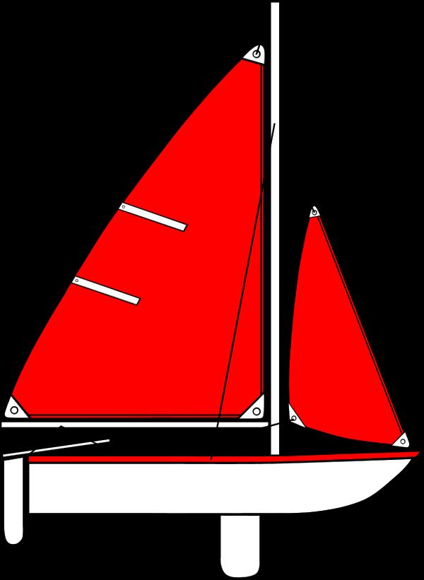 Red Boat Clip Art.