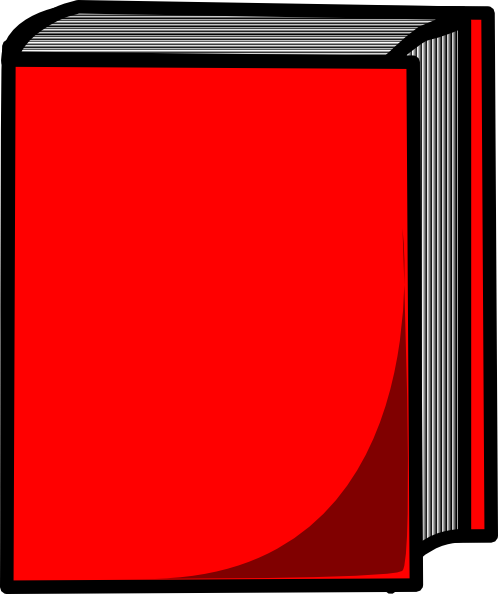 Red book clipart #15