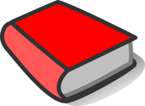 Red Book Clipart.
