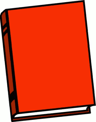 Free Red Book Clipart.