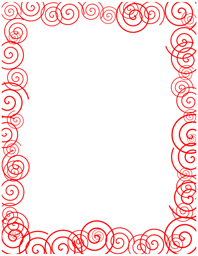Clip art red borders.