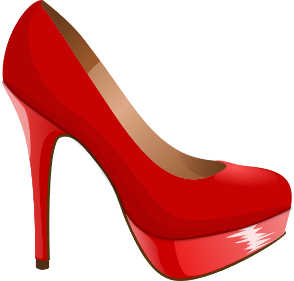 high heel svg.
