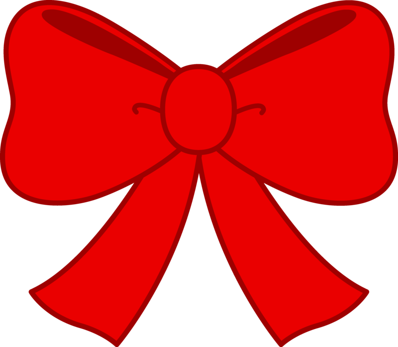 Download Free png Cute Red Bow Clipart Free C.