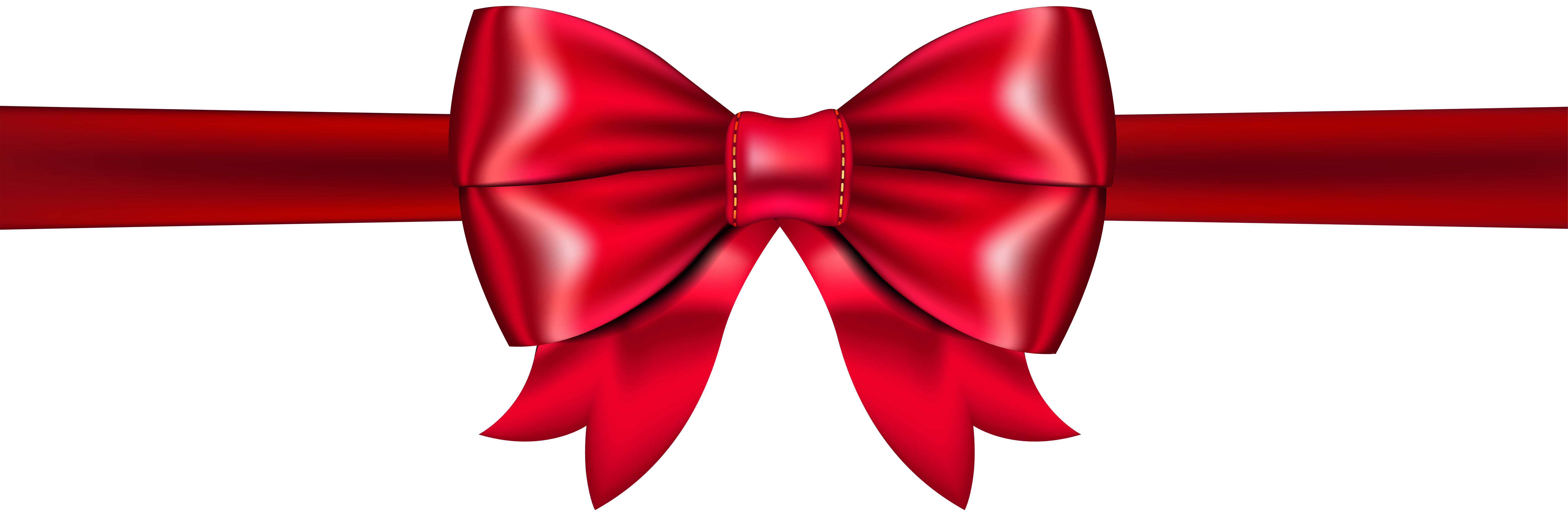 Red Bow PNG Clip Art.
