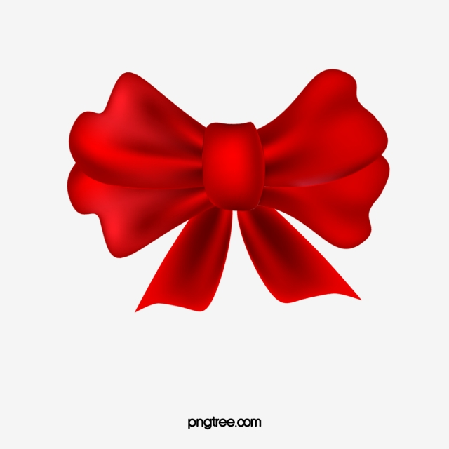 Red Bow Png, Vector, PSD, and Clipart With Transparent.