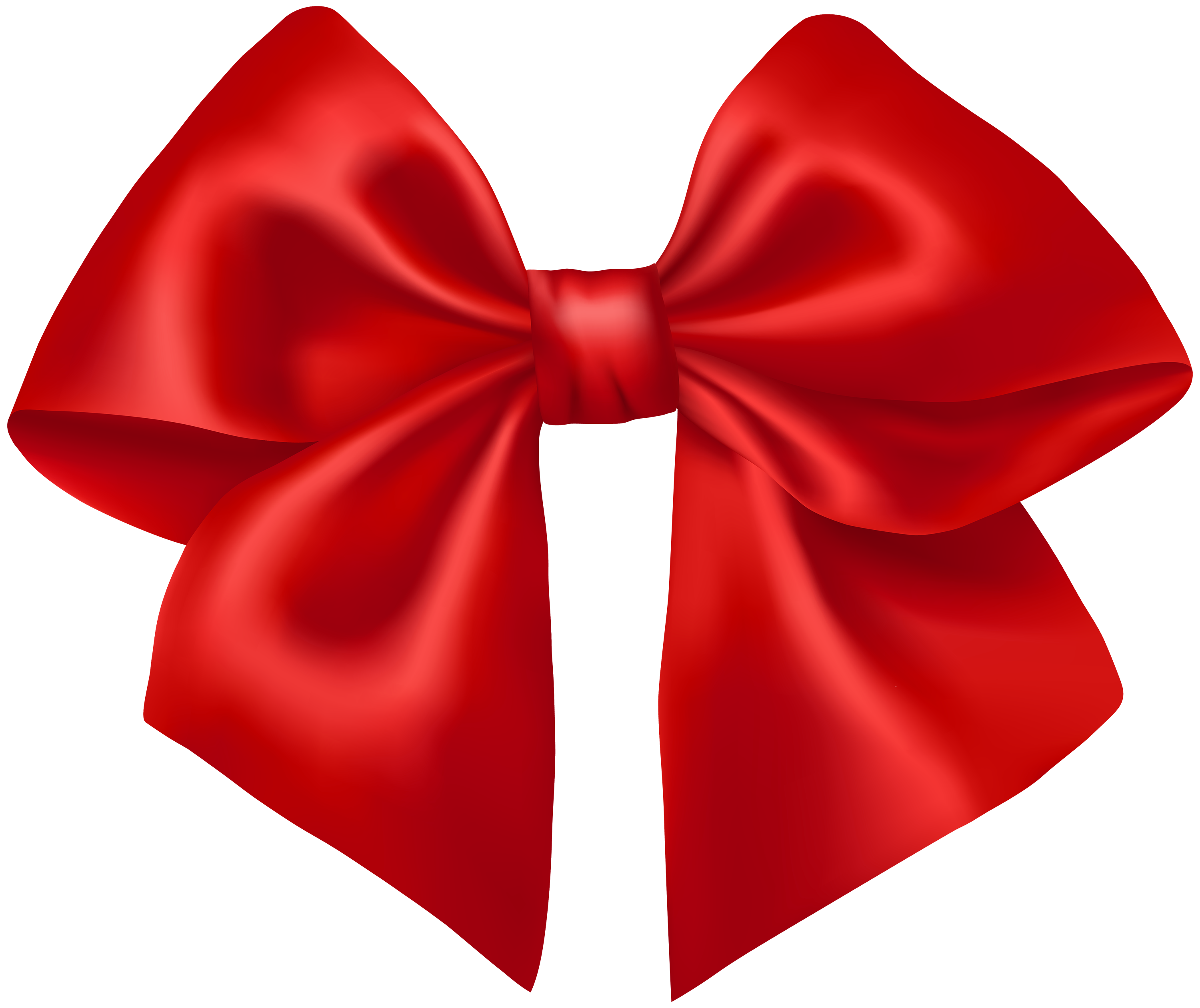 Red Ribbon PNG Clipart.