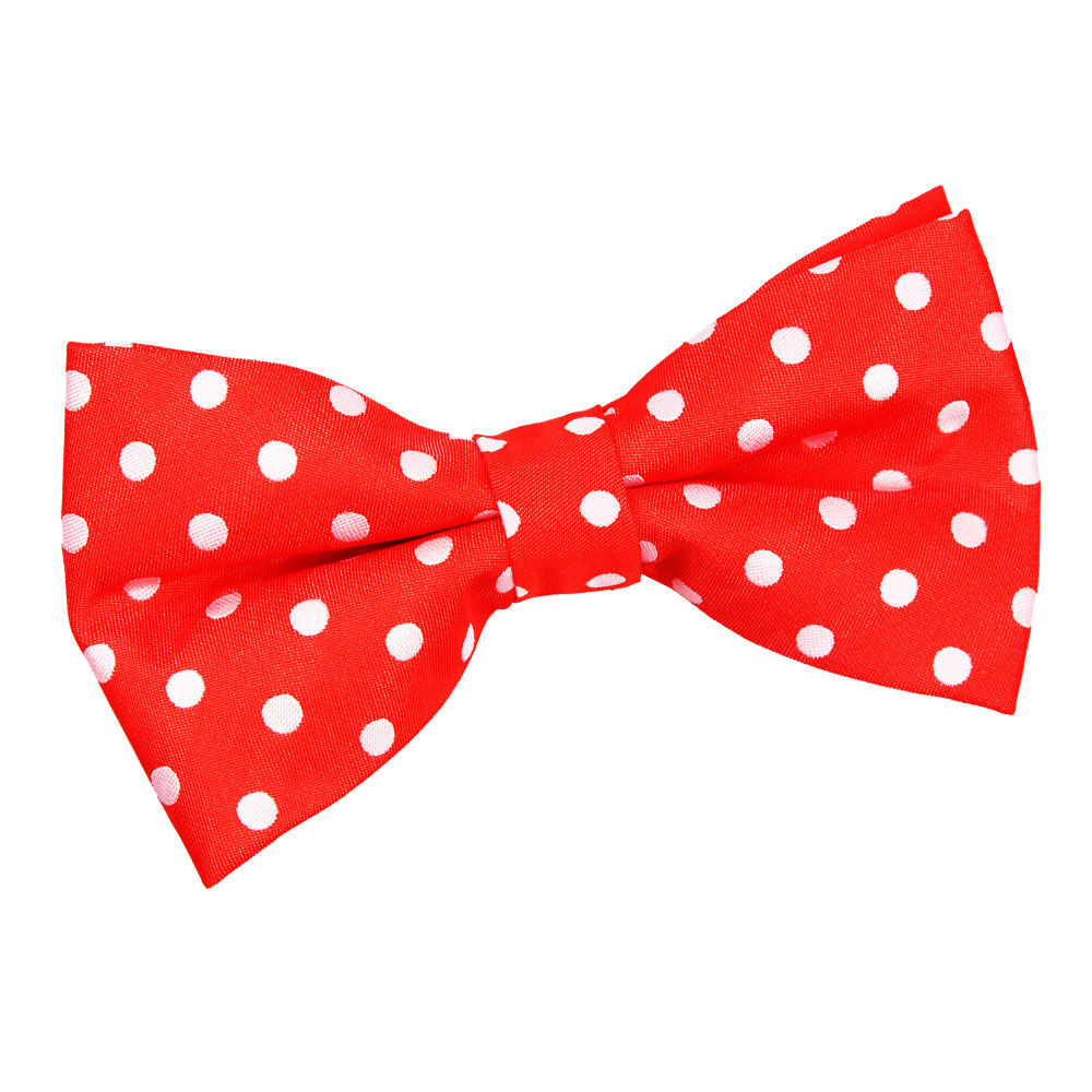 Details about DQT Woven Polka Dot Red Formal Casual Classic Mens Pre.