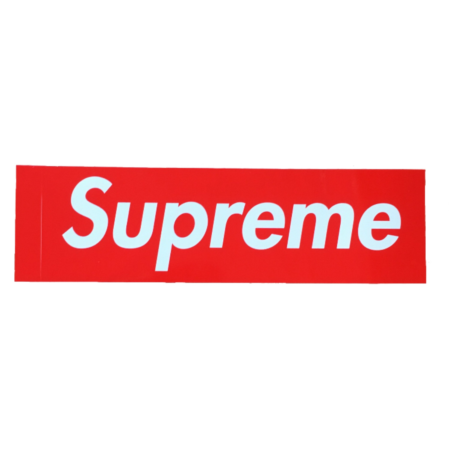 Supreme Red Box Logo Stickers.