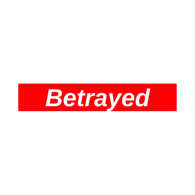 Betrayed // Red Box Logo.