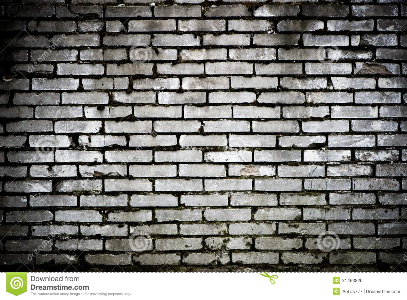 Brick Black And White Clipart Wall Background Stock Photo Image 31463820