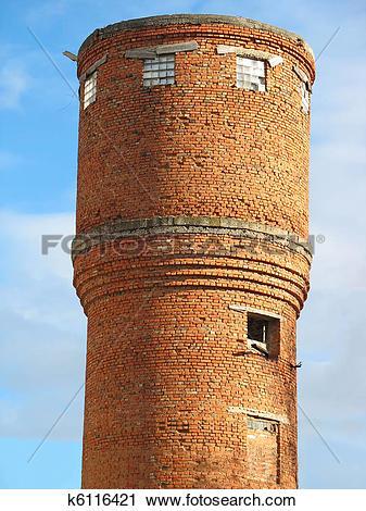 Карлье, Водонапорная башня кирпичная масса среднего класса нет России. Они могут