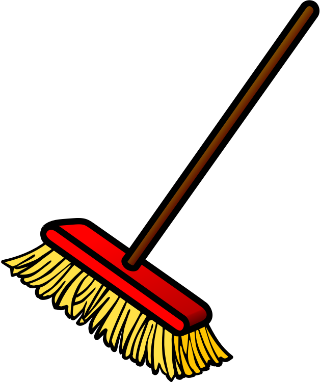 Broom clipart transparent no copyright.