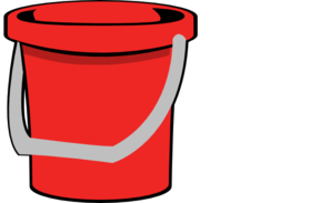 Red Bucket Clip Art at Clker.com.
