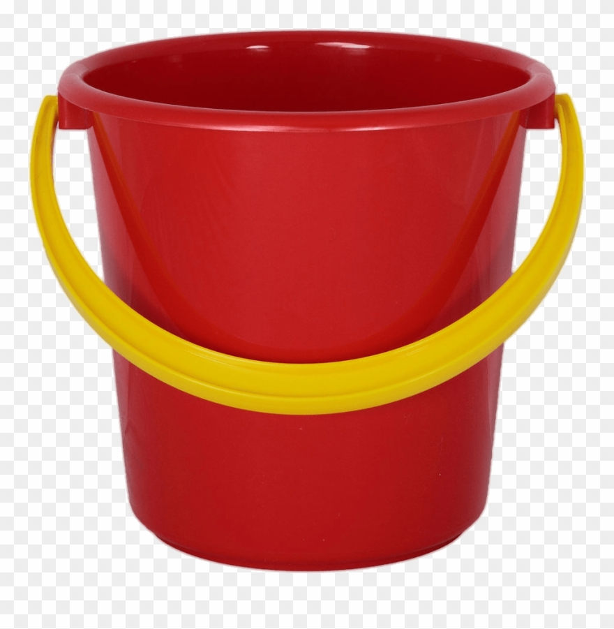 Red Bucket No Background Clipart (#608167).