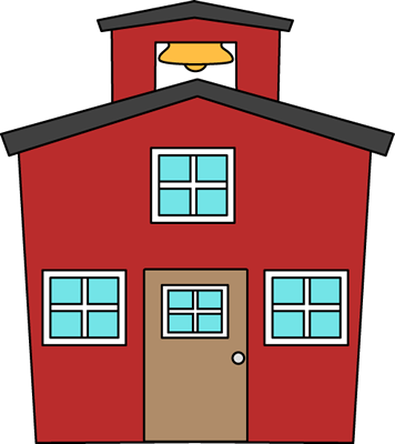 Red House Clipart.