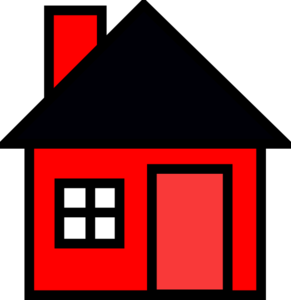 Red House Clip Art at Clker.com.