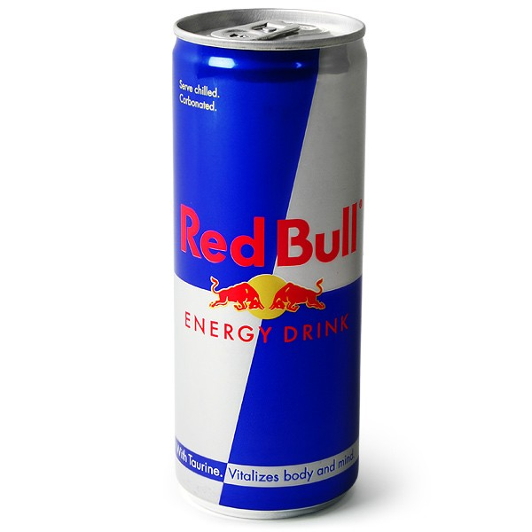 Red bull can clipart.