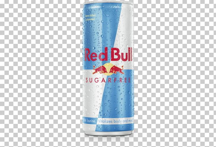 Red Bull Sugar Free 250ml Energy Drink Drink Can PNG.