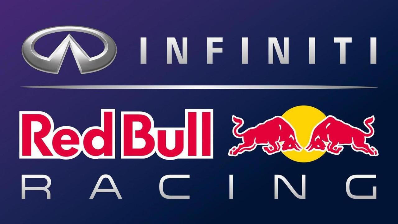 Infiniti Red Bull racing logo.