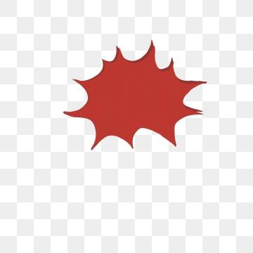 Red Burst PNG Images.