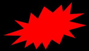Red Burst Clip Art at Clker.com.