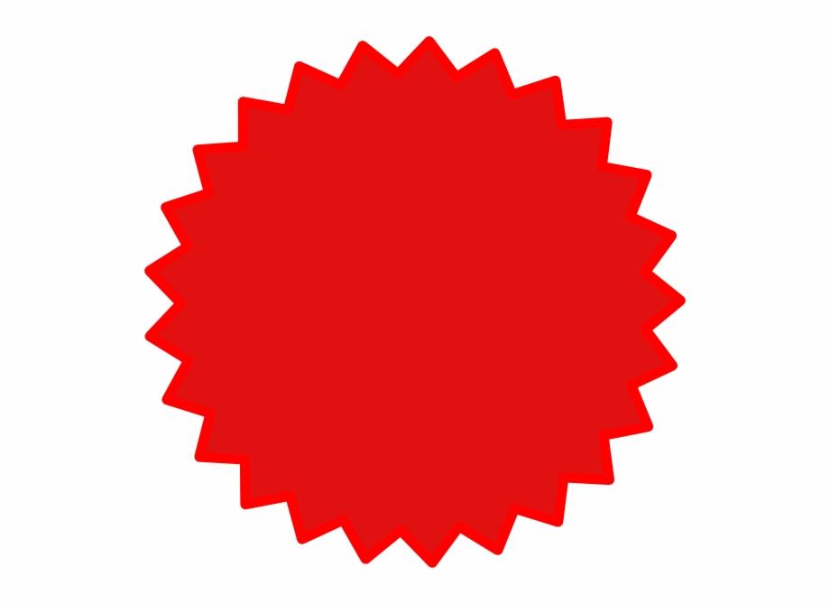 Red Burst Png.